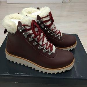 NWT Anthropologie Bernardo Wiley Rain Winter Boots